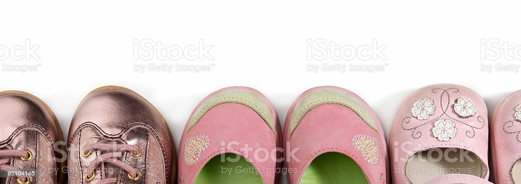 girlie shoes royalty-free stock photo
