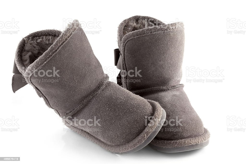 Girl's Boots stock photo