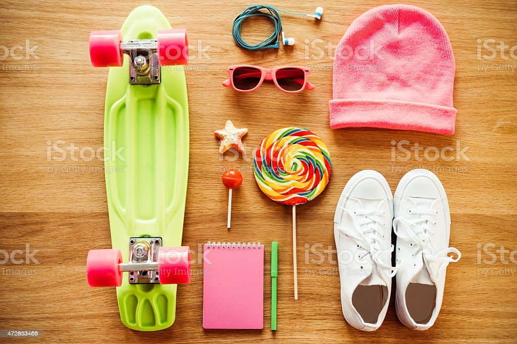 Girls collection. stock photo