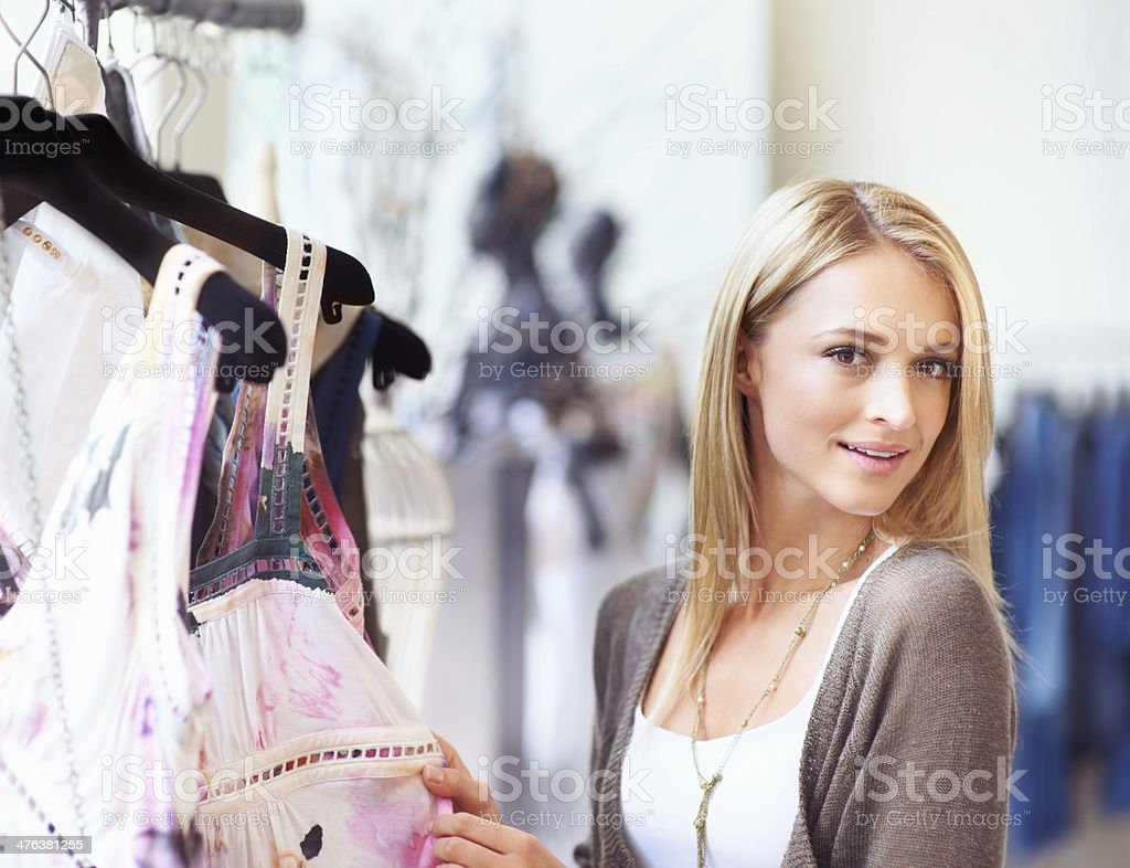 Girl's day off - Gone Shopping royalty-free stock photo
