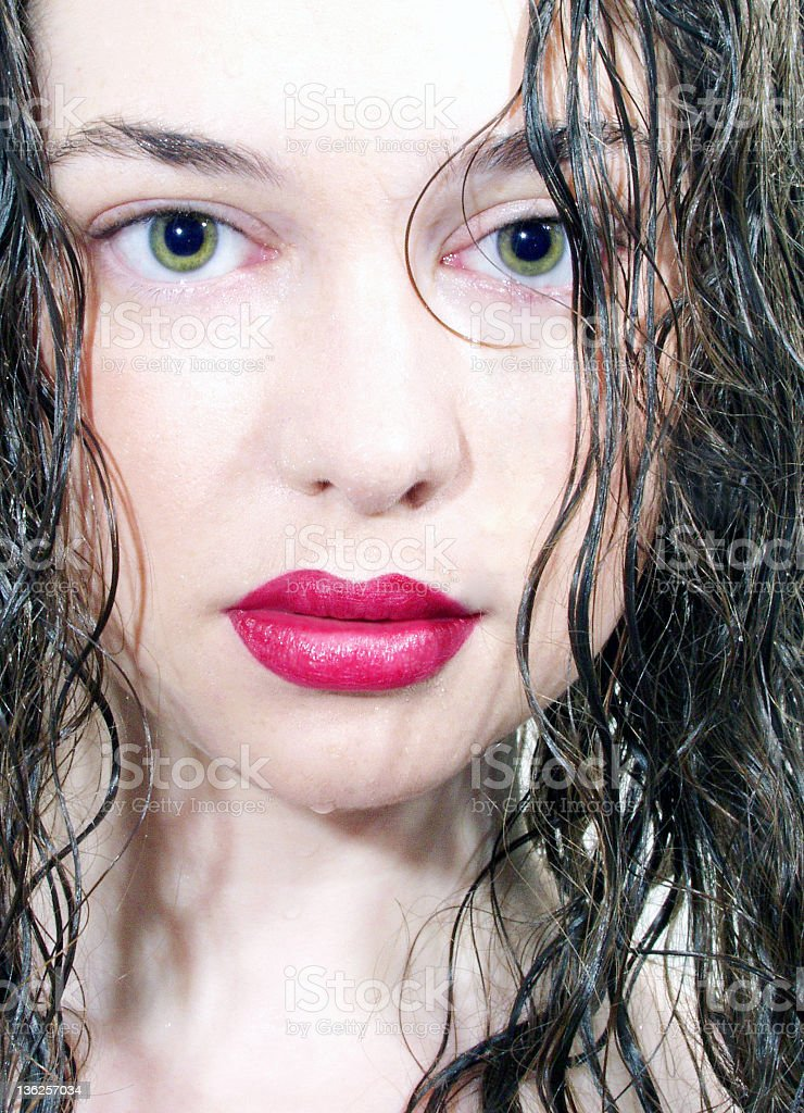 girl's face royalty-free stock photo