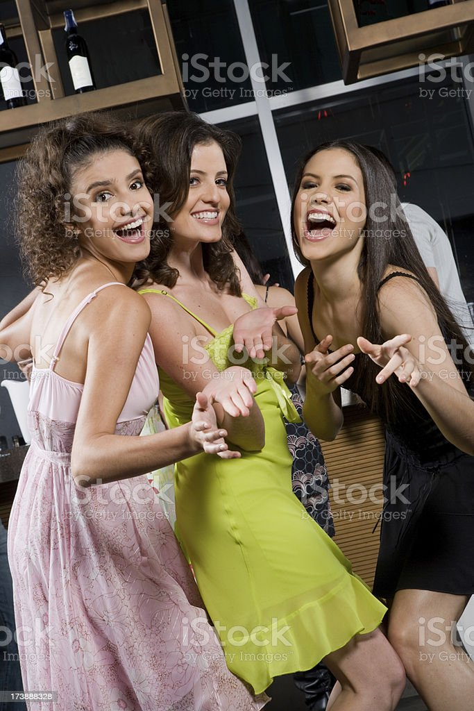 Girls Just Want To Have Fun royalty-free stock photo