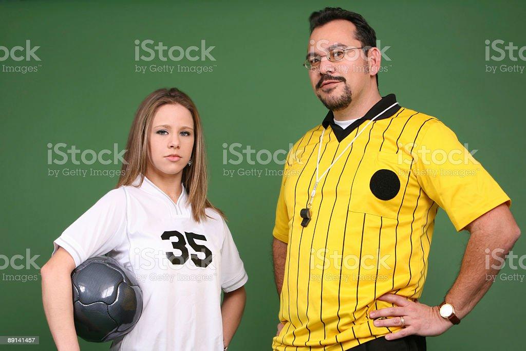 Girl's League stock photo