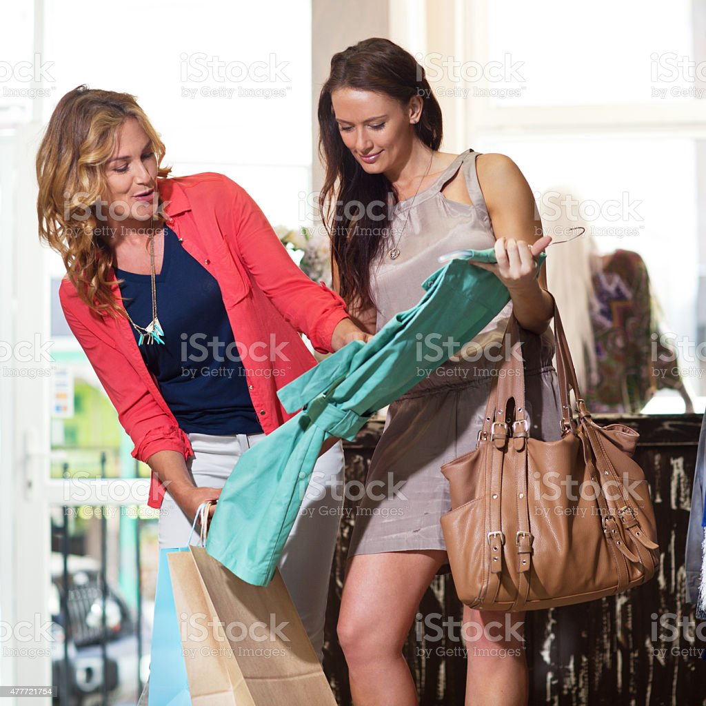 Girls never stop playing dress up stock photo