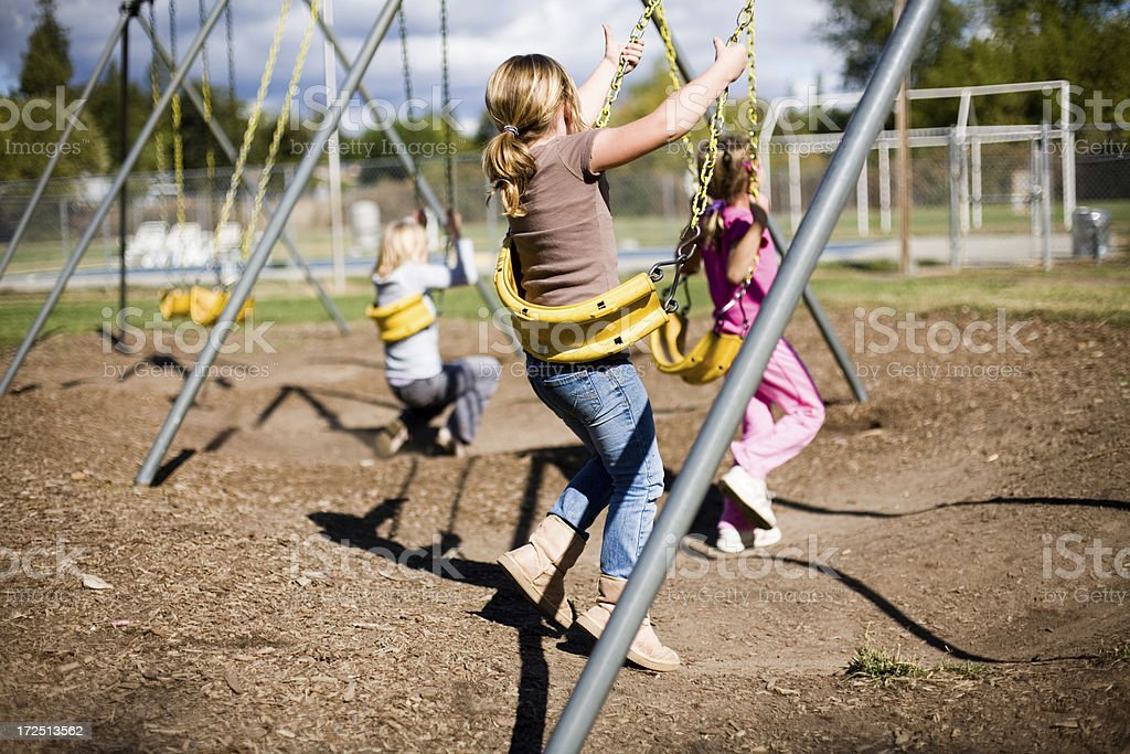 Girls Only royalty-free stock photo