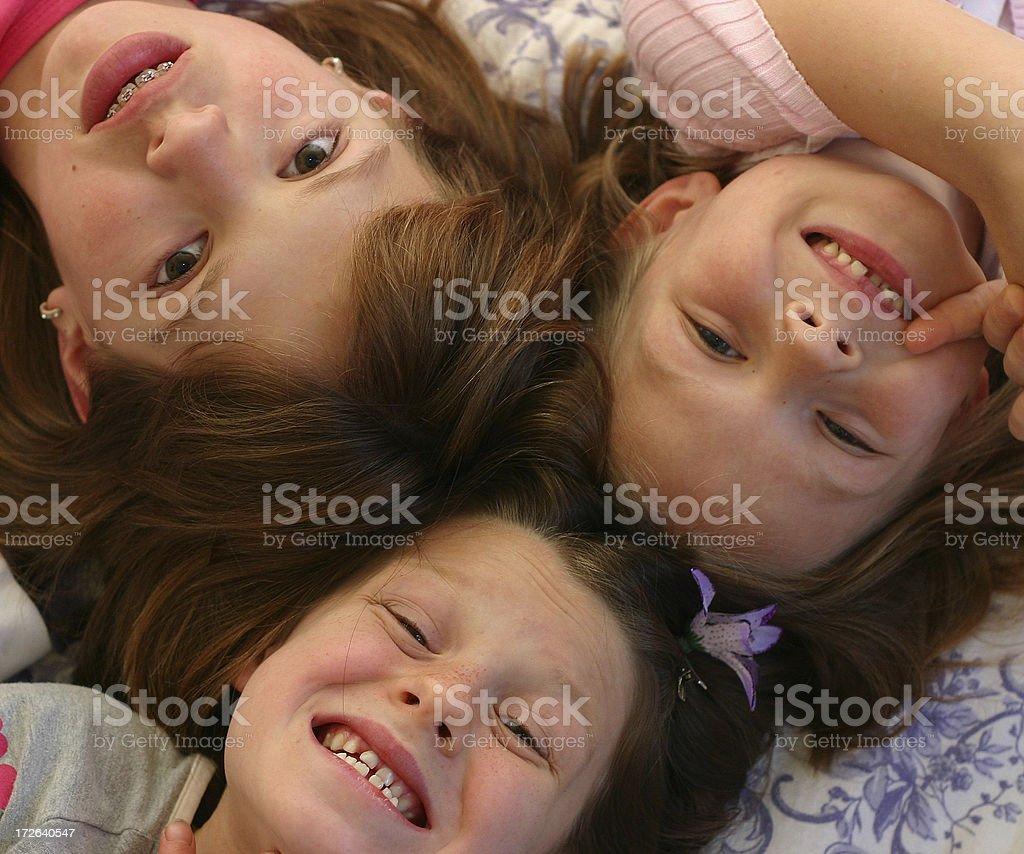 Girls royalty-free stock photo