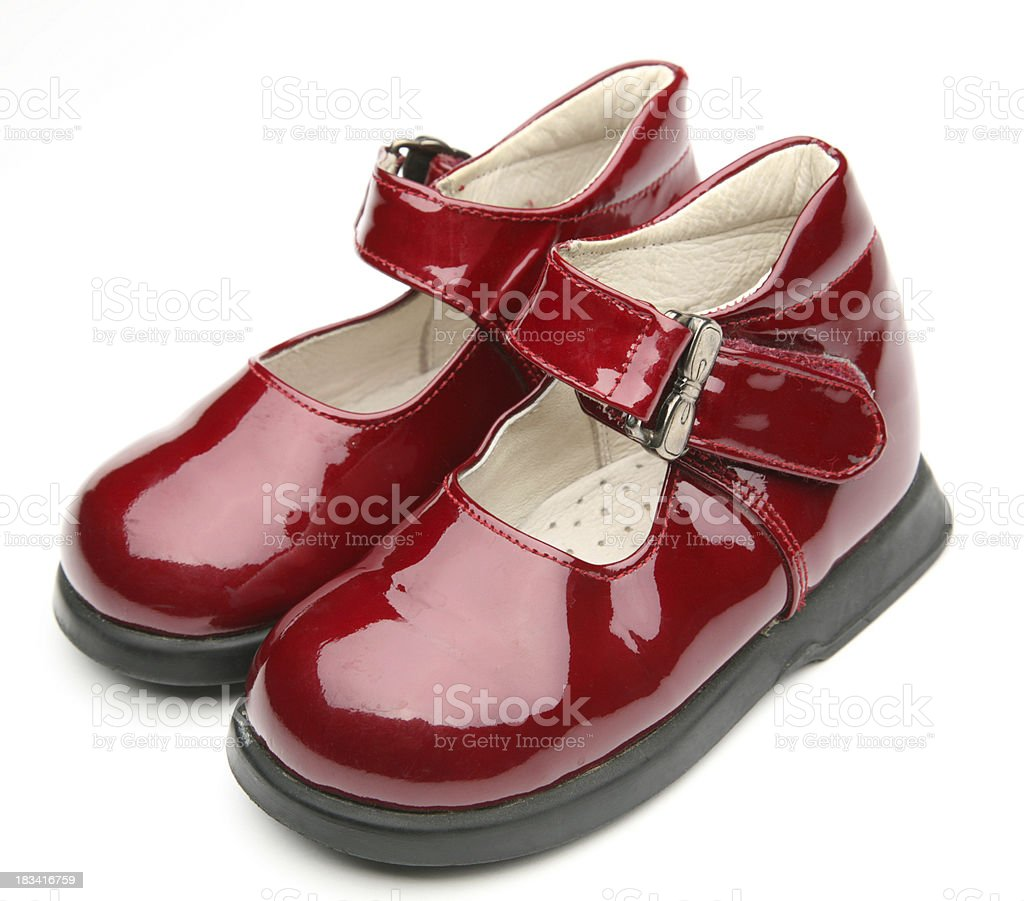 girls shoes royalty-free stock photo