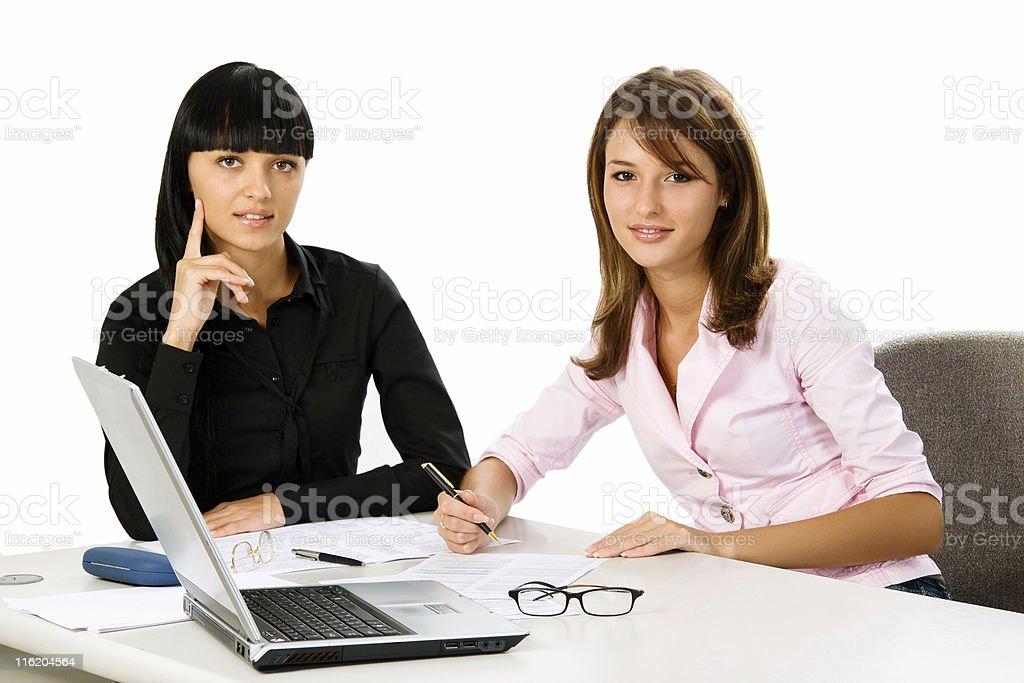 girls students royalty-free stock photo