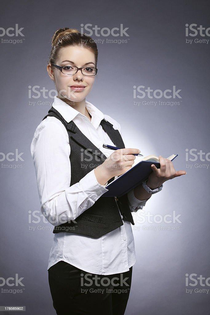 Mädchen-student Lizenzfreies stock-foto