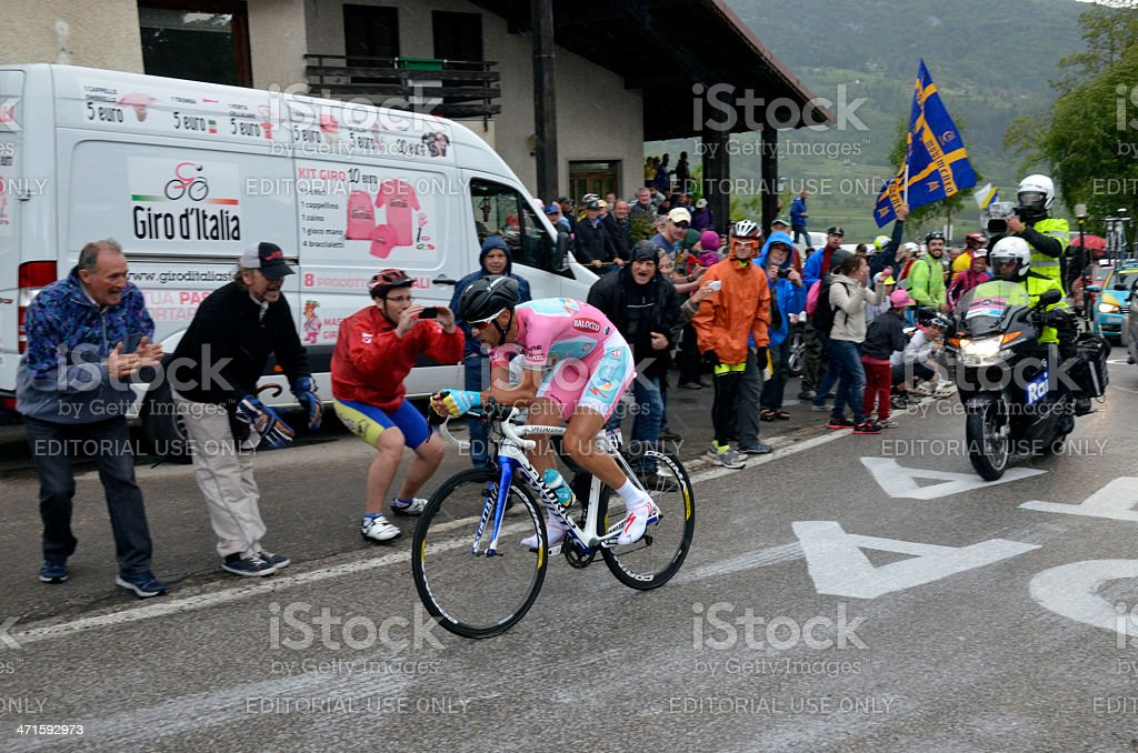 Giro d'Italia Stage 18?? royalty-free stock photo