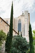 Girona (Catalunya, Spain), gothic buildings