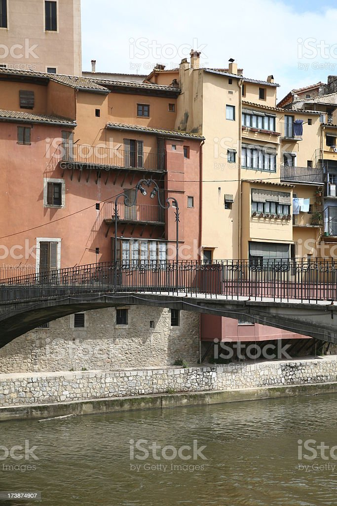 Gerona in Cataluna royalty-free stock photo