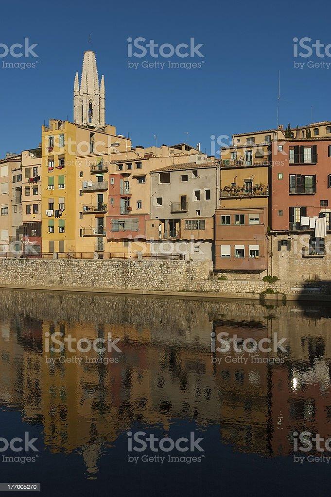 Girona Lizenzfreies stock-foto