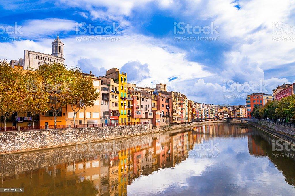 Girona , Spain stock photo