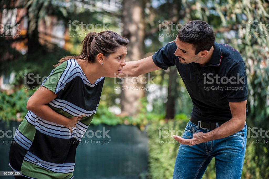 Girsl feels bad stock photo