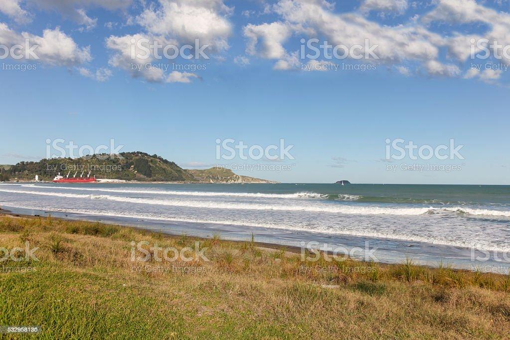 Gisborne - North Island New Zealand stock photo