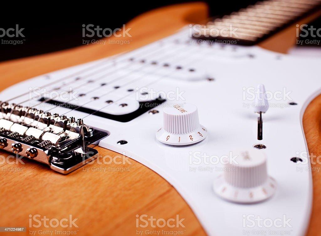 Gitarre stock photo
