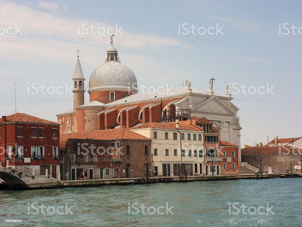 Giudecca - Chiesa del Santissimo Redentore stock photo