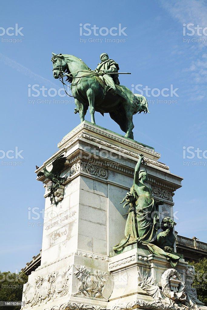 Giuseppe Garibaldi royalty-free stock photo