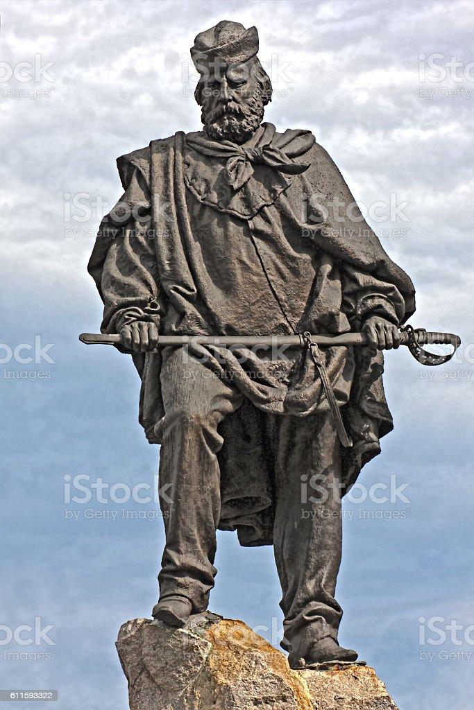 Giuseppe Garibaldi stock photo