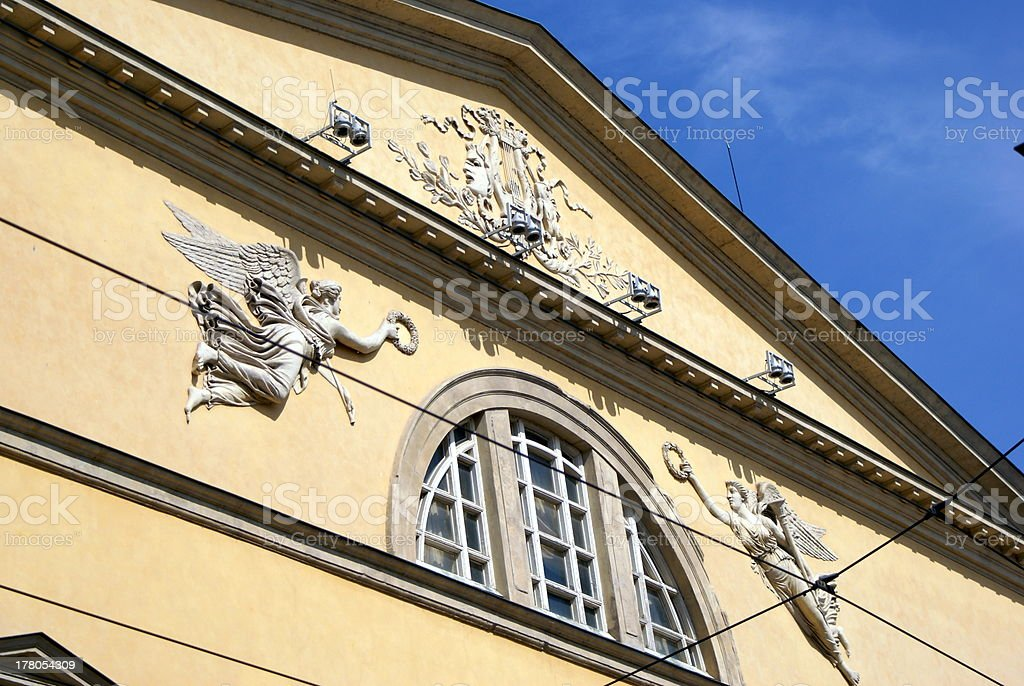 Giuseppe Verdi Theater royalty-free stock photo