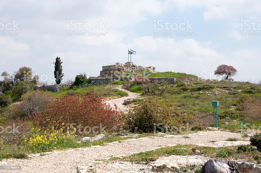 Giv'at HaTahmoshet (Ammunition Hill) stock photo