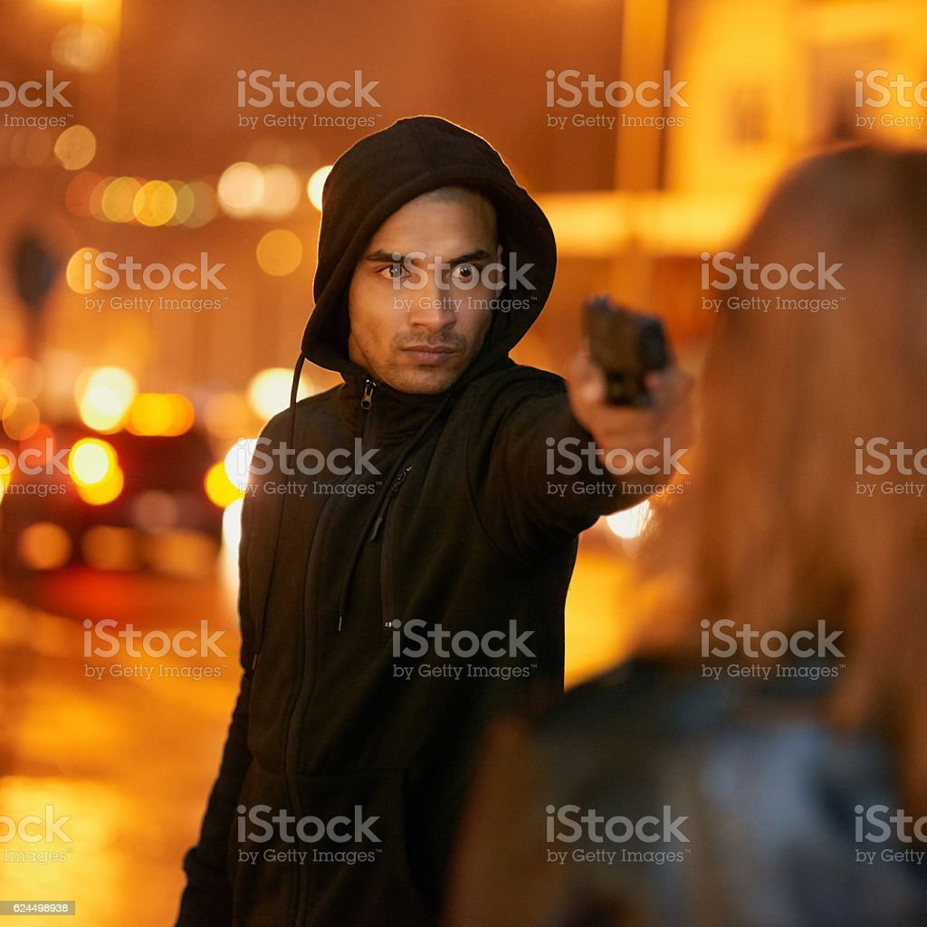 Give me everything you've got! stock photo