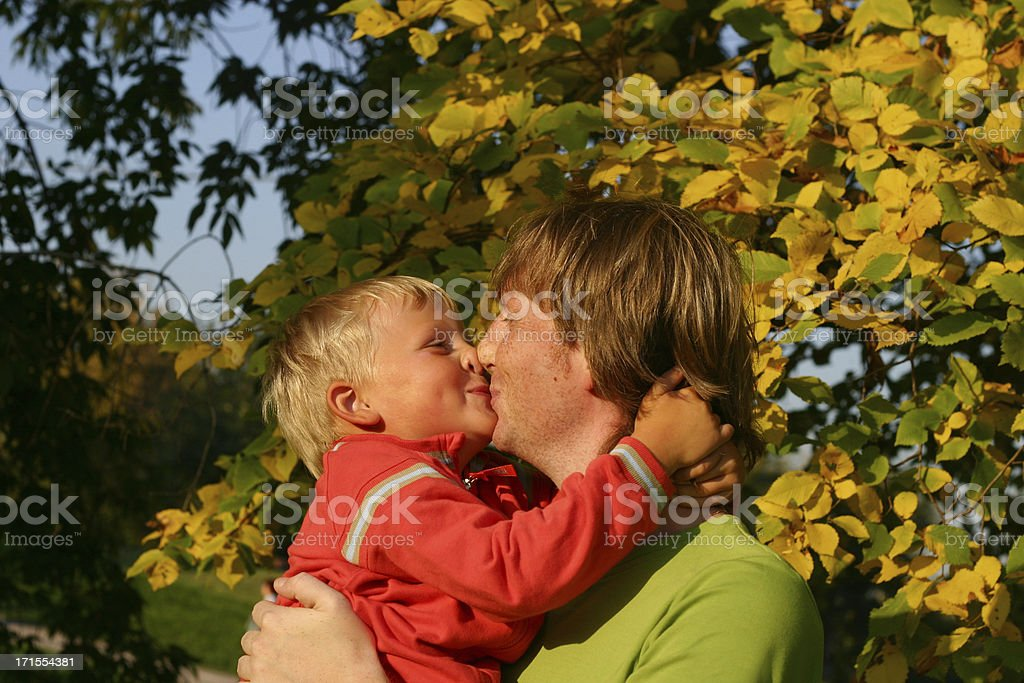 Give me kiss! stock photo