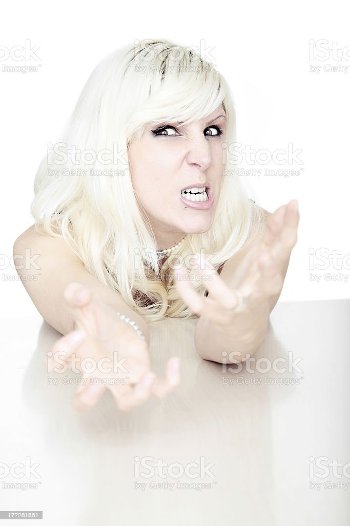 Give me what I want ! royalty-free stock photo