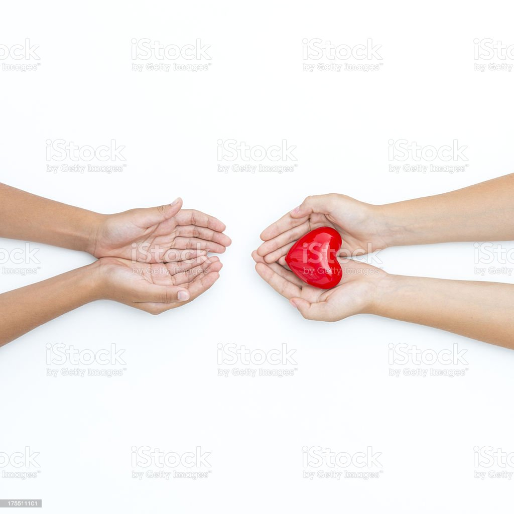 I give you all my love stock photo