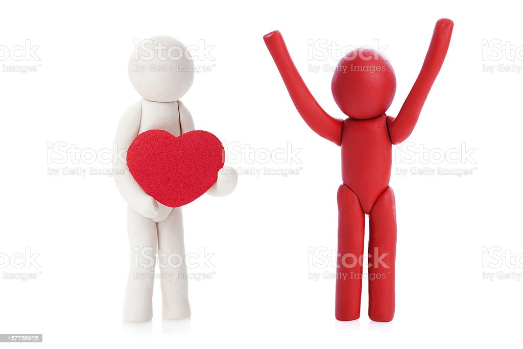 I give you my Heart! royalty-free stock photo