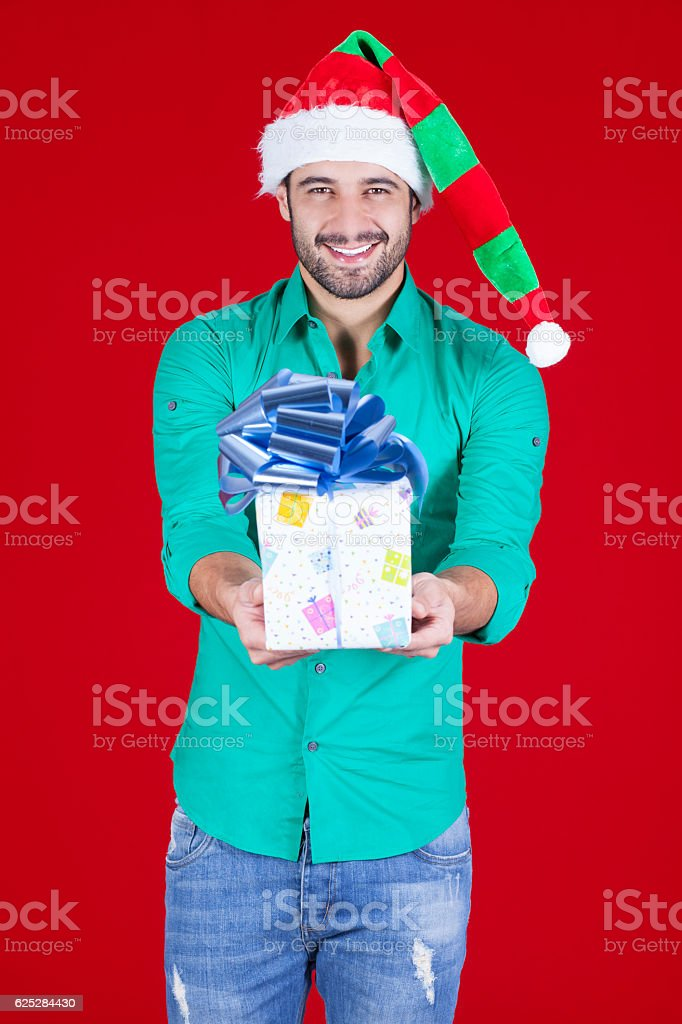 I give you this gift stock photo