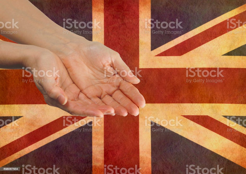 Give your Country your Support stock photo