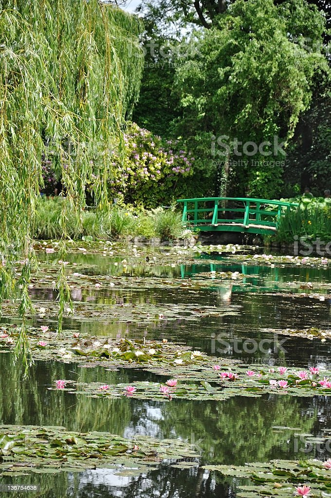 Giverny stock photo