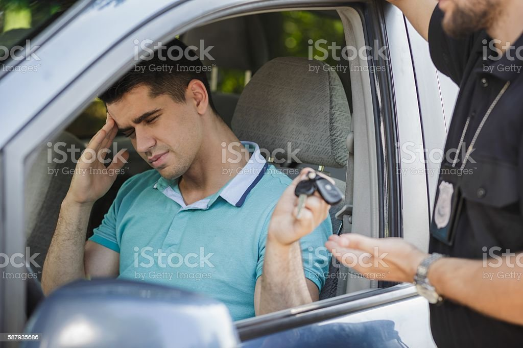 Giving away a car stock photo