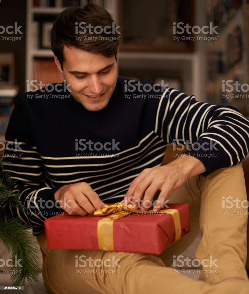 Giving is the best gift of all royalty-free stock photo