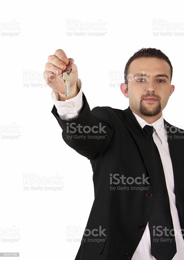 Giving Keys Series royalty-free stock photo