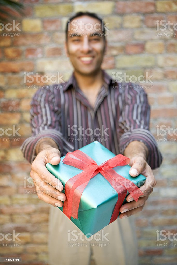 giving royalty-free stock photo