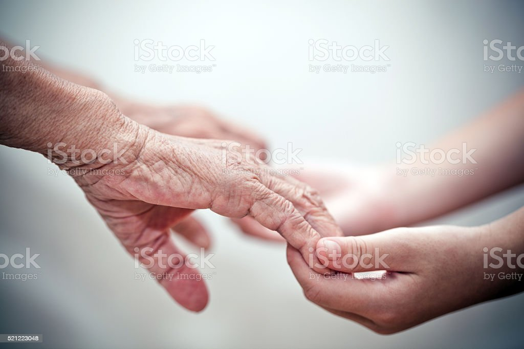 Giving Support stock photo