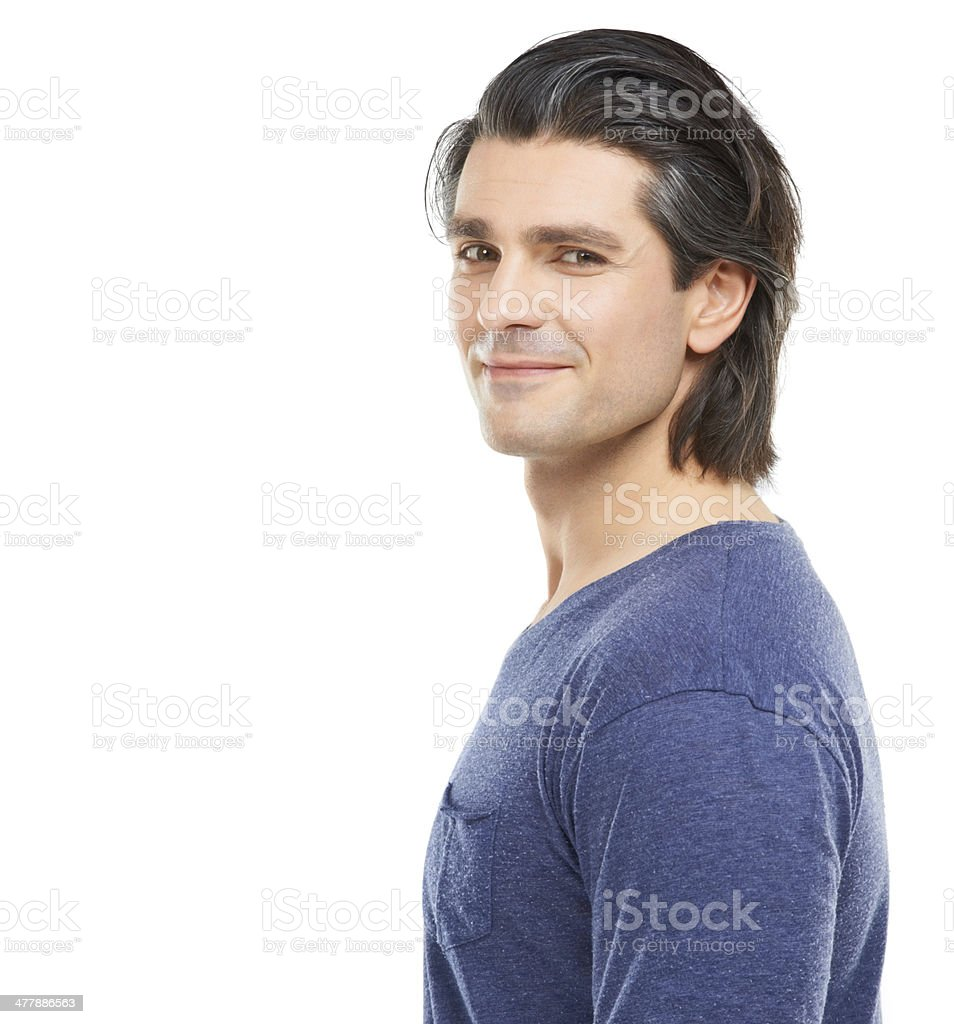 Giving you a knowing look royalty-free stock photo