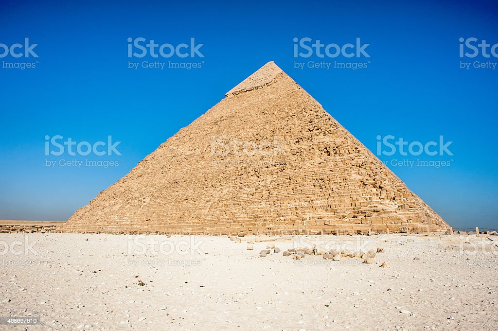 Giza Necropolis, Giza Plateau, Egypt. UNESCO World Heritage stock photo