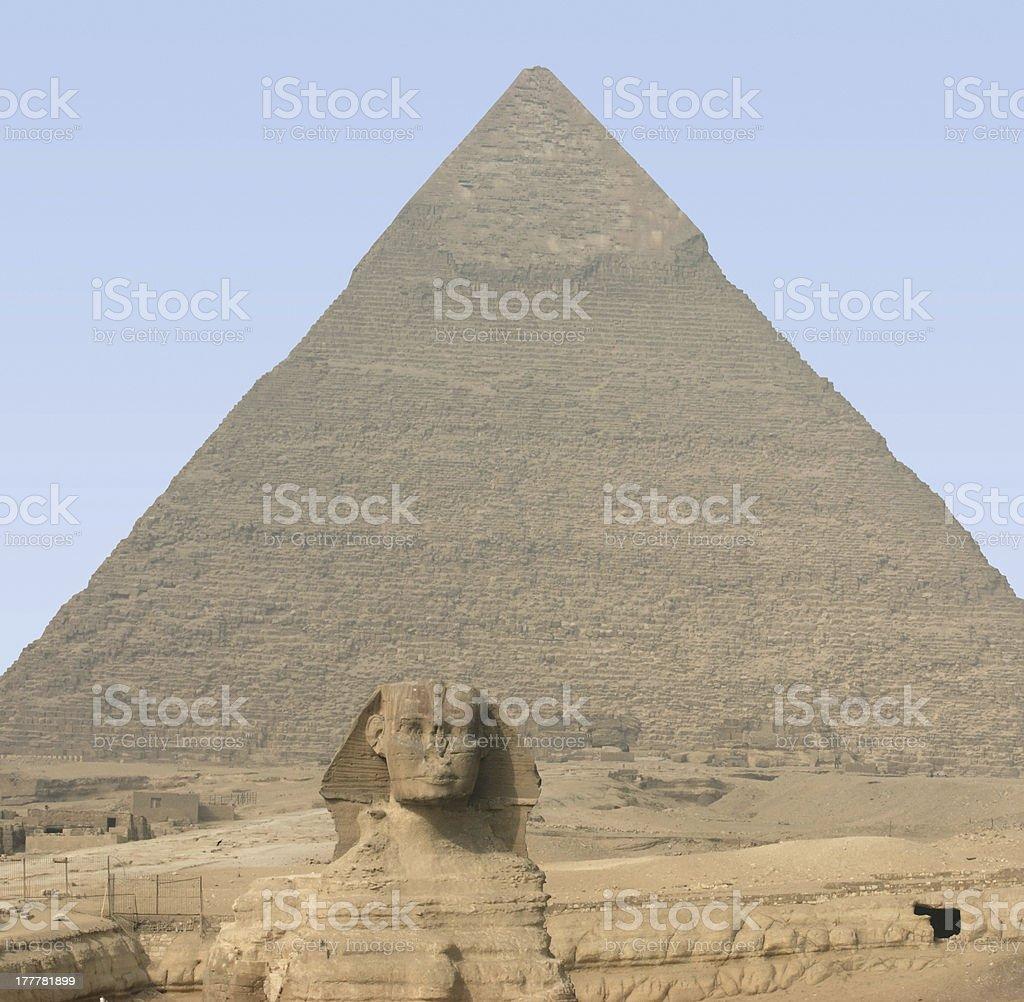 Giza Necropolis royalty-free stock photo