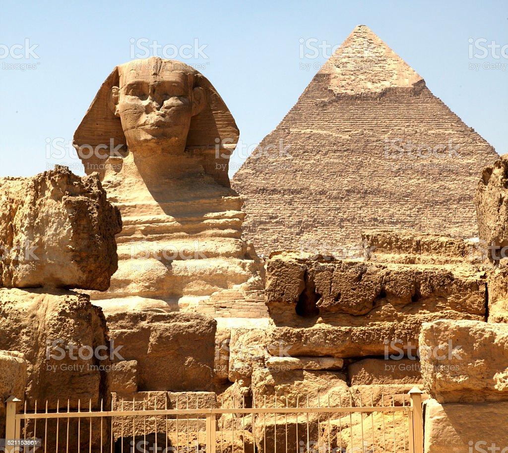 Giza Plateau stock photo