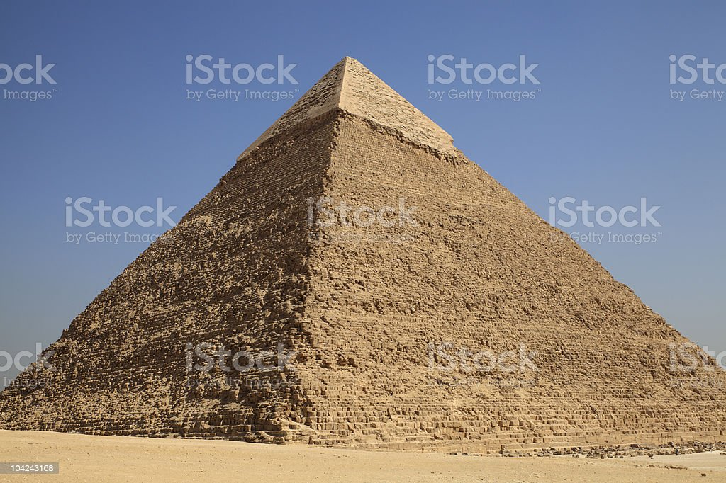 Giza Pyramid royalty-free stock photo