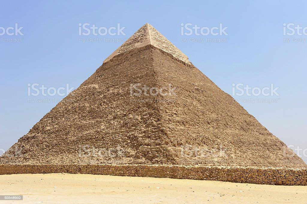Giza pyramid royalty-free stock photo