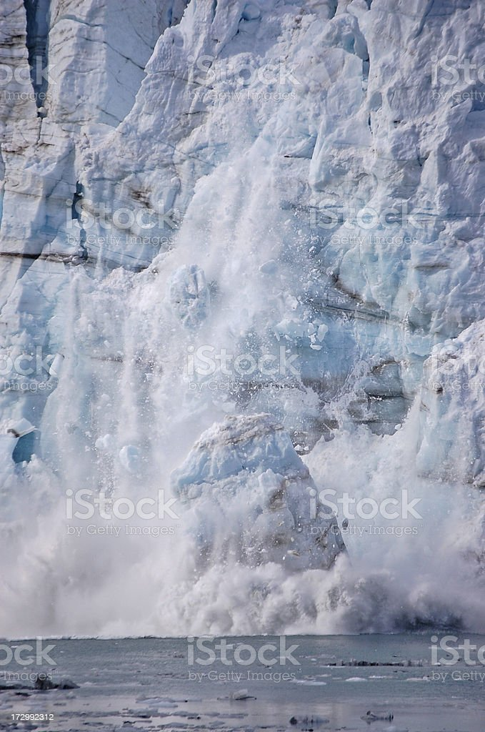 Glacial Calving stock photo