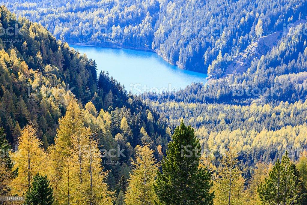 Glacial lake royalty-free stock photo