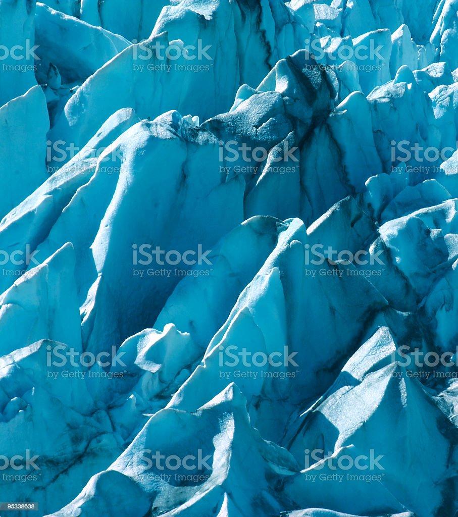 Glacial Peaks royalty-free stock photo