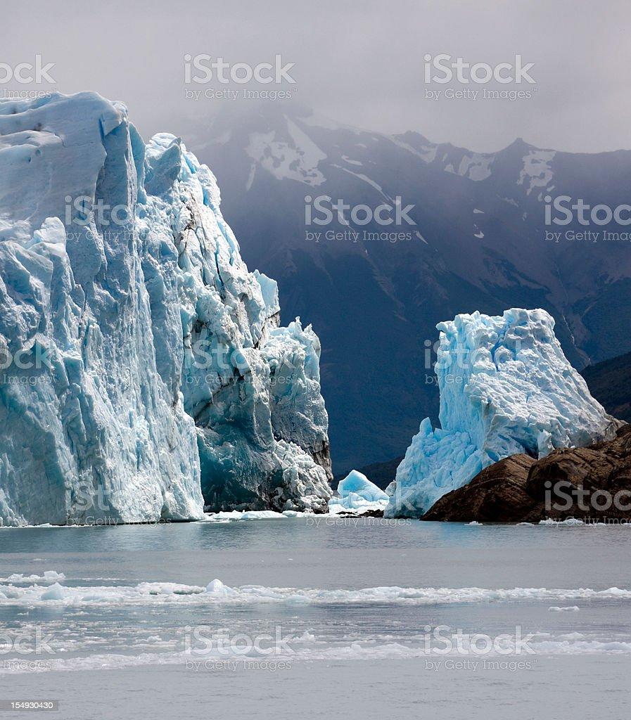 Glaciar 'Perito Moreno' royalty-free stock photo
