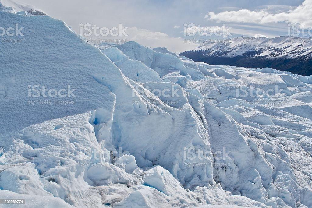 Glaciar Perito Moreno stock photo